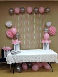 pink and gray baby shower pink baby shower decoration ideas baby shower gift ideas