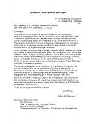 Writing Application Letter For Nursing Job