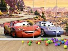 chambre mcqueen cars flash mcqueen and sally poster chambre enfants room ebay