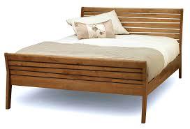 furniture appealing teak bed frame for amusing bedroom brown