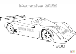 1986 porsche 962 coloring page free printable coloring pages