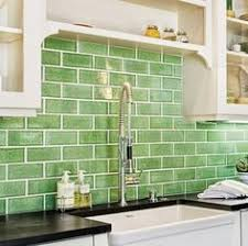 green backsplash kitchen green subway tile backsplash in white kitchen eco 62