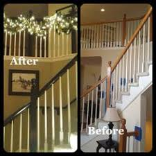 How To Refinish A Wood Banister How To Refinish A White Oak Wood Banister Banisters White Oak