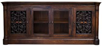 Media Cabinets With Doors Hacienda Style Furniture Media Cabinets Palomar Cabinet W