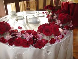 banquet table decorations photos dining room charming diy christmas table decor ideas with red