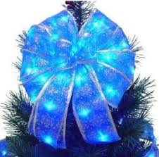 Christmas Decorations Blue Bows by Lighted Christmas Bows U2013 Happy Holidays