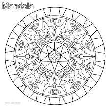 printable mandala coloring pages kids cool2bkids