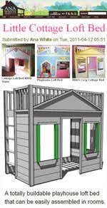 Cottage Loft Bed Plans by 20 Free Loft Bed Plans How To Build A Loft Bed
