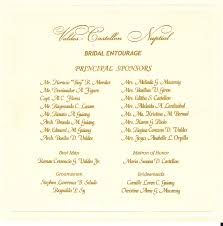 wedding program wording exles best of wedding invitation wording philippines wedding