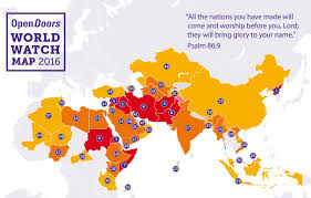 Africa And Middle East Map by Christians Flee Growing Persecution In Africa And Middle East