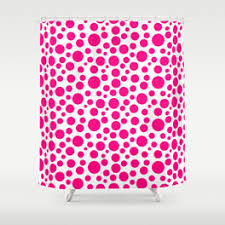 Circles Shower Curtain Circle Pattern Shower Curtains Society6