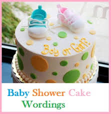 unique baby shower cakes classic cake wordings baby shower cake