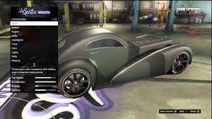 bugatti type 57sc atlantic gta 5 fully customized bugatti type 57sc atlantic truffade z