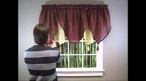 how to install an ascot valance youtube and curtains excellent