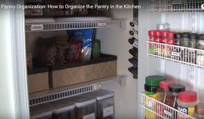 How To Organize Your Kitchen Pantry - video kitchen pantry organization