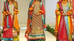mehndi dresses new designers collections 2015 video dailymotion