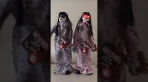 halloween animated standing moving ghost girls youtube