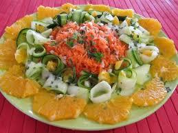 eau de fleur d oranger cuisine orange en salade à l eau de fleur d oranger recette entrées