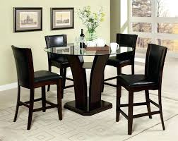 counter height dining table with leaf counter height round table and chairs round glass counter height