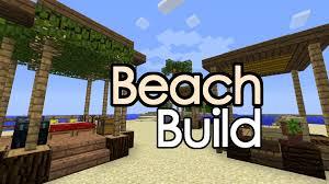 minecraft beach hut shack rv build youtube