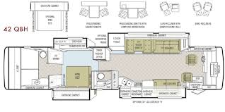 Class A Floor Plans by 2009 Tiffin Phaeton 42qbh Tiffin Motorhomes For Sale By Owner