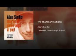 the thanksgiving song adam sandler shazam