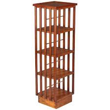 Revolving Bookshelf English Mid Century Mahogany Revolving Bookcase At 1stdibs