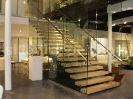 Steel Handrails For Steps Cool Stainless Steel Handrail For Stright Glass Staircase And Fake