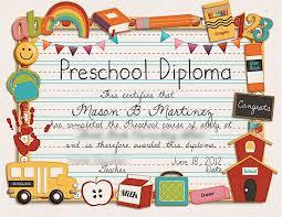 preschool certificates 122 best certificates images on printable certificates