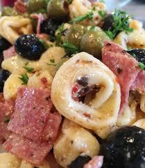 What Type Of Dressing Does Olive Garden Use Tortellini Olive Salad Norine U0027s Nest