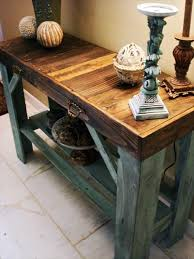 Entryway Table Entryway Table Make Out From Rustic Pallet Pallets Designs