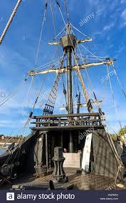 crow u0027s nest of replica old spanish galleon nao victoria ship