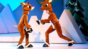 rudolph the nosed reindeer characters rudolph the nosed reindeer to fly into amarillo in a