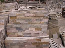 Stacked Stone Wall Tile And Ledger Panel Stacked Stone Tile Wall - Stacked stone tile backsplash
