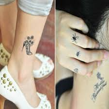 subaru tattoo temporary tattoo finger tattoos cute bowknot pattern waterproof