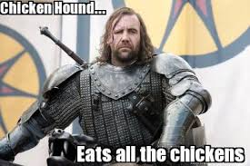 Meme Creator Winter Is Coming - meme creator chicken hound eats all the chickens thehound got