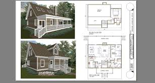 100 cabin floor plans with a loft cottage floor plans with