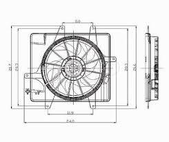 chrysler pt cruiser radiator fan chrysler pt cruiser fan assembly dual 2001 2005