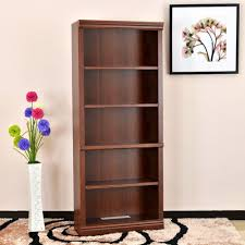 Home Depot Decorative Shelves Hampton Bay Dark Brown Wood Open Bookcase Thd130419 1a Of The