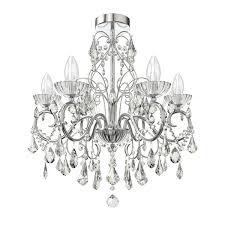 solen 5 light bathroom chandelier