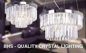 Bhs Crystal Chandeliers Home Lighting Modern Lights First Choice Lighting
