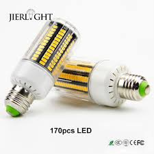 10pcs a lot real wattage 15w e27 corn led bulb lights lamps ac22v