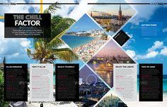 magazine template indesign 56 page layout v1 yearbook spread