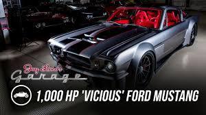 Mustang Boss Horsepower 1 000 Hp U0027vicious U0027 1965 Ford Mustang Jay Leno U0027s Garage Youtube