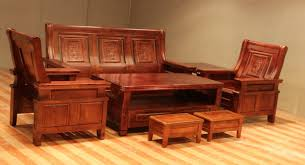 Solid Wooden Furniture Design Furniture Simple Solid Wooden Furniture Set With Armed Wooden