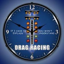 theme clock drag racing clocks lighted wall clocks garage clocks
