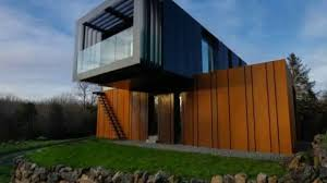 shipping container house ireland youtube