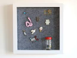 pin board diy simple enamel pin display board sew sew
