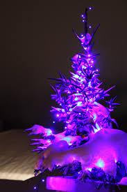 purple christmasee ornaments silver skirtpurple