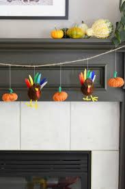 turkey and pumpkin thanksgiving garland frugal eh